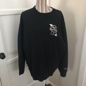 🆕 Pabst Blue Ribbon Branded Champion Sweatshirt